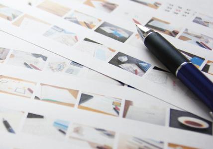 印刷物サンプル